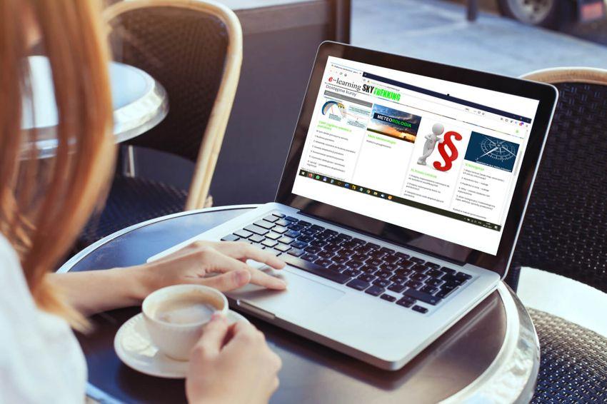 E-learning paralotnie